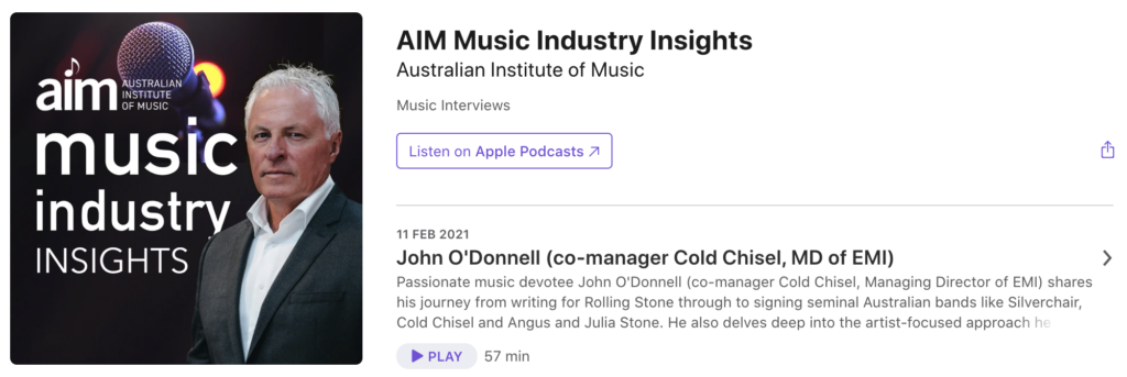 Apple Podcast Embed