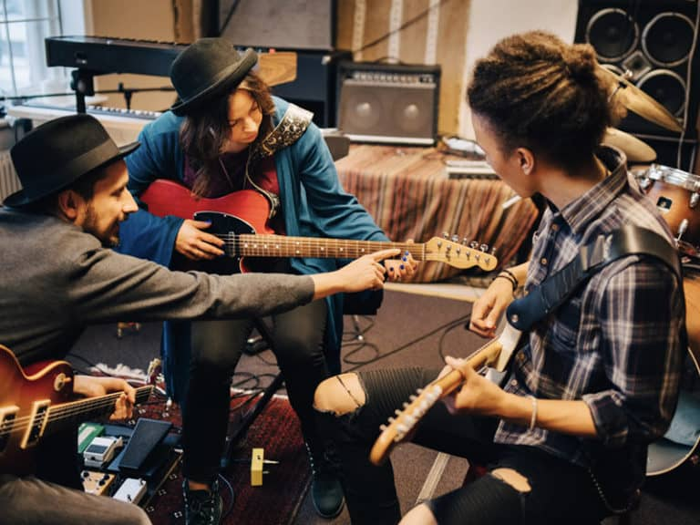 Musicians Learning