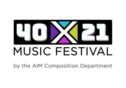 40x21 Composition and Music Production Live Showcase logo