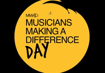 Musicians Making A Difference Day